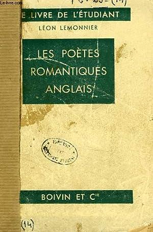 LES POETES ROMANTIQUES ANGLAIS: LEMONNIER LEON