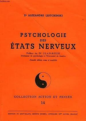 PSYCHOLOGIE DES ETATS NERVEUX: LESTCHINSKI Dr ALEXANDRE