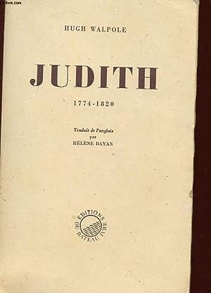 JUDITH 1774- 1820: WALPOLE HUGH