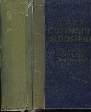 L'ART CULINAIRE MODERNE. LA BONNE TABLE FRANCAISE: PELLAPRAT H.-P.