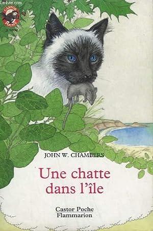 UNE CHATTE DANS L'ILE. COLLECTION CASTOR POCHE: CHAMBERS JOHN W.
