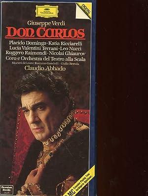 DON CARLOS : CLAUDIO ABBADO: VERDI GIUSEPPE