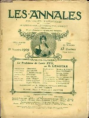 LES ANNALES POLITIQUES ET LITTERAIRES N° 1378: COLLECTIF
