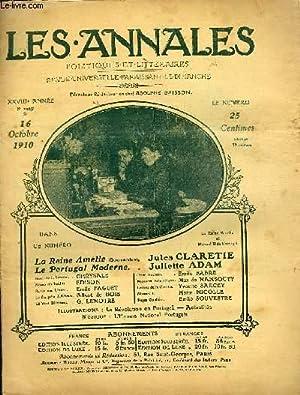 LES ANNALES POLITIQUES ET LITTERAIRES N° 1425 La maison d'Edison.: COLLECTIF