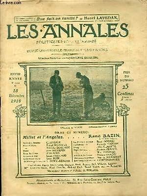 LES ANNALES POLITIQUES ET LITTERAIRES N° 1434: COLLECTIF
