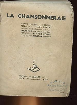 LA CHANSONNERAIE: BARRET PAUL