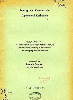 BEITRAG ZUR KENNTNIS DER DIPHTHALOYL-KARBAZOLE: DOBROVIC DAVORIN