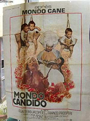 AFFICHE DE CINEMA DU FILM: MONDO CANDIDO: Gualtiero Jacopetti /