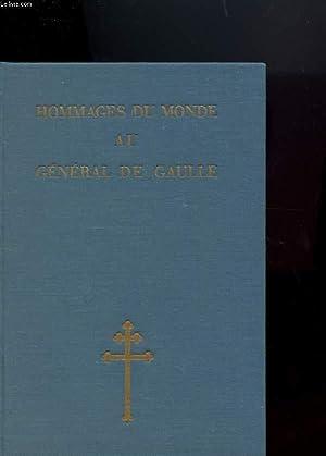 HOMMAGES DU MONDE AU GENERAL DE GAULLE: COLLECTIF