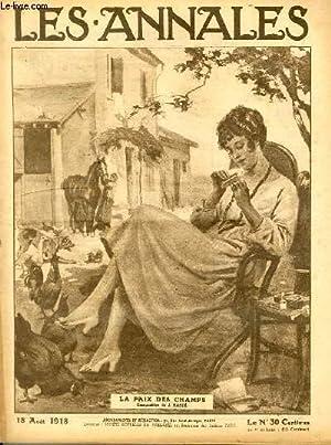 LES ANNALES POLITIQUES ET LITTERAIRES N° 1834 La paix des champs (Composition de J. Basté): ...