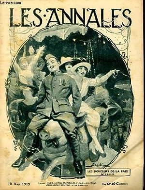 LES ANNALES POLITIQUES ET LITTERAIRES N° 1885: COLLECTIF