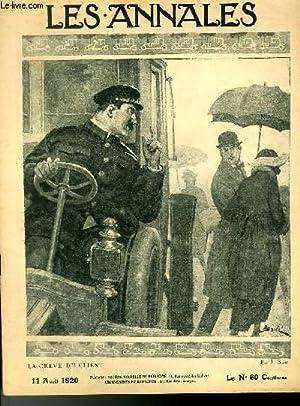 LES ANNALES POLITIQUES ET LITTERAIRES N° 1920 La grève du client, par J. Basté.: COLLECTIF