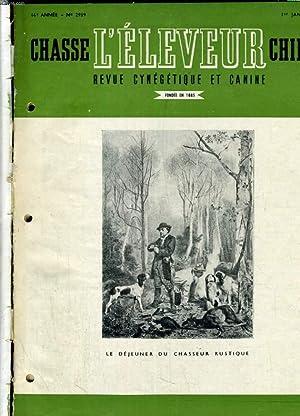 L'ELEVEUR, CHASSE ET CHIENS ANNEE COMPLETE 1950. DU N°2989 AU N°3012: COLLECTIF
