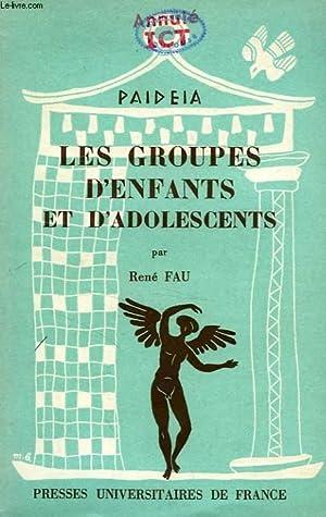 LES GROUPES D'ENFANTS ET D'ADOLSCENTS: FAU Dr RENE