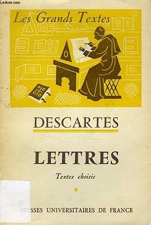 LETTRES: DESCARTES, Par M. ALEXANDRE