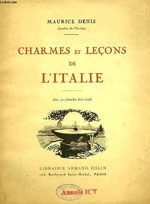 CHARMES ET LECONS DE L'ITALIE: DENIS MAURICE