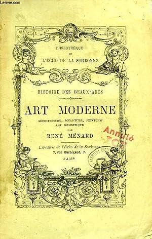 HISTOIRE DES BEAUX-ARTS, ART MODERNE: MENARD RENE