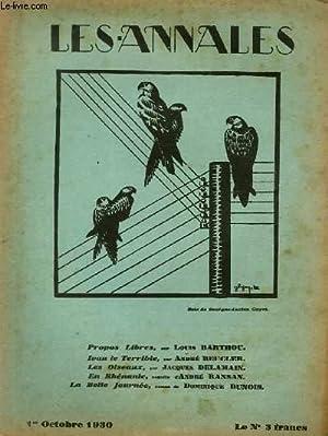 LES ANNALES POLITIQUES ET LITTERAIRES N° 2367 Bois de Georges-Lucien Guyo.: COLLECTIF