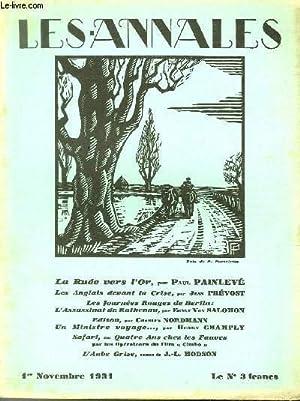 LES ANNALES POLITIQUES ET LITTERAIRES N° 2393 Bois de P. Portelette.: COLLECTIF