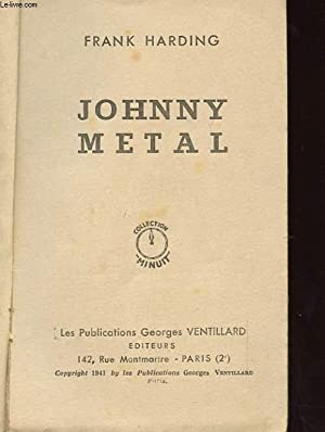 JOHNNY METAL: FRANCK HARDING