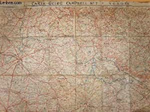 CARTE-GUIDE CAMPBELL N°7 = VOSGES - 1/320 000e: COLLECTIF