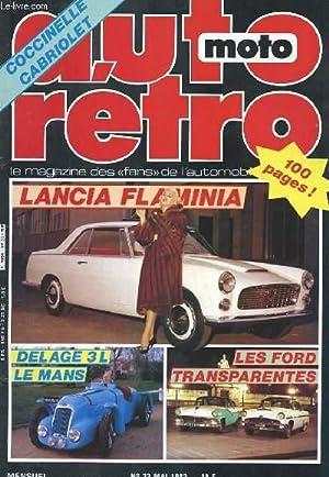 AUTO-MOTO RETRO N°33 - LANCIA FLAMINA -: COLLECTIF