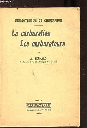 les carburateurs - AbeBooks