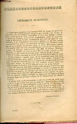 """BIBLIOTHEQUE POPULAIRE N°348 : """"Pétrarque humaniste"""" par: PETRARQUE"""