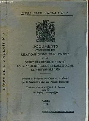 Collectif Livre Bleu Anglais N 1 Documents Abebooks