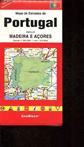Portugal Mapa Estradas Abebooks