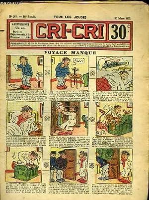 Cri-Cri n°757, 16ème année : Voyage manqué: PEGUET & COLLECTIF
