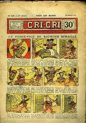 Cri-Cri n°656, 14ème année : La Vengeance: PEGUET & COLLECTIF