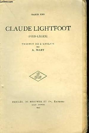 Claude Lightfoot (Pied-Léger): FINN Francis