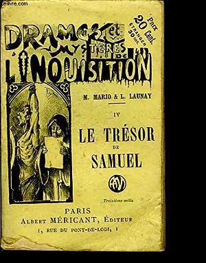 Drames et Mystères de l'Inquisition. N°IV : MARIO M. &