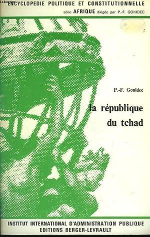 La République du Tchad: GODINEC P.-F.