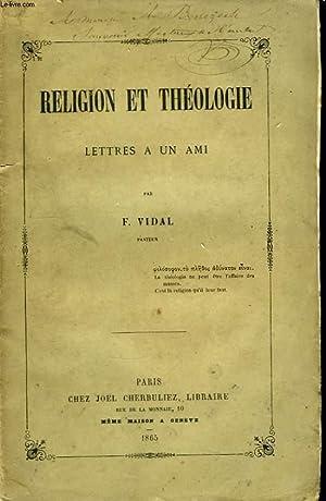 Religion et Théologie.: VIDAL F.