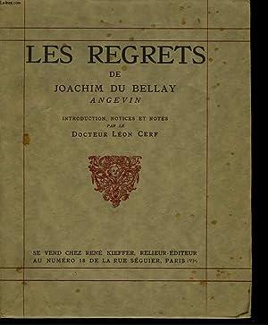 Les Regrets: DU BELLAY Joachim,