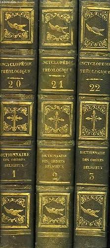 Encyclopédie Théologique. TOMES 20, 21 et 22: MIGNE Abbé /
