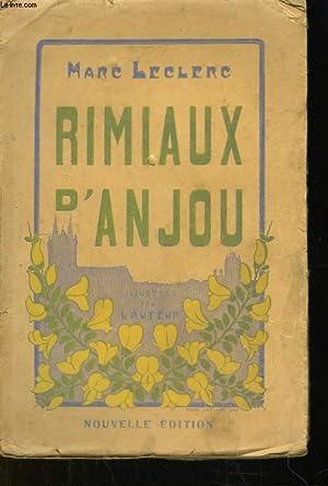 Rimiaux d'Anjou: LECLERC Marc