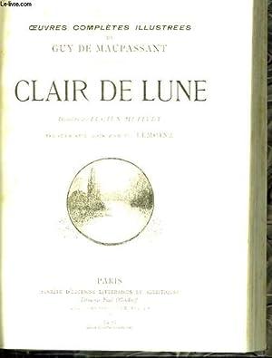 Clair de Lune.: MAUPASSANT Guy de
