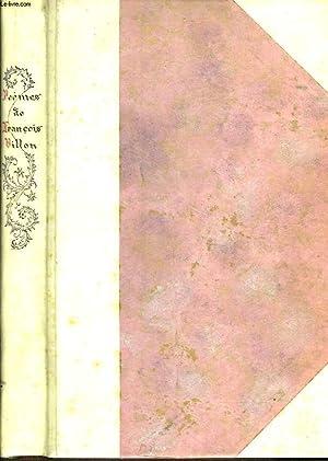 Poèmes: VILLON FRANCOIS