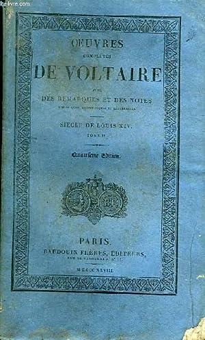 Oeuvres Complètes de Voltaire. TOME 26 : VOLTAIRE