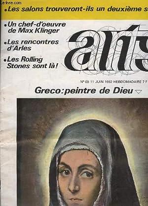 Arts N°69 : Greco : peintre de: COLLECTIF