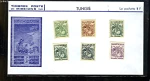 Collection de 6 timbres-poste neufs, de Tunisie.