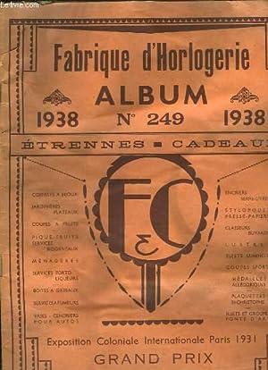 Album N°249 Fisseau & Cochot. Catalogue de: ETABLISSEMENTS FISSEAU &