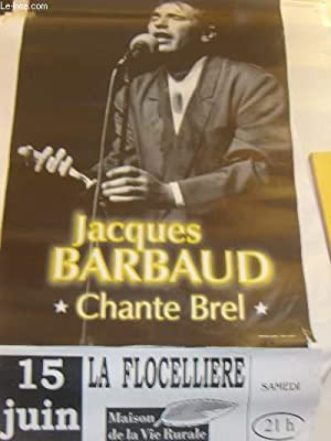 Jacques Barbaud chante Brel