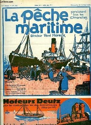 La Pêche Maritime. 11ème année - N°: MOREUX René &