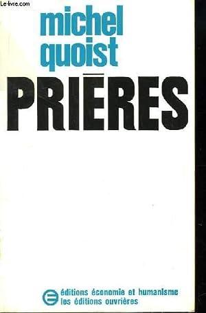 Prières.: QUOIST Michel