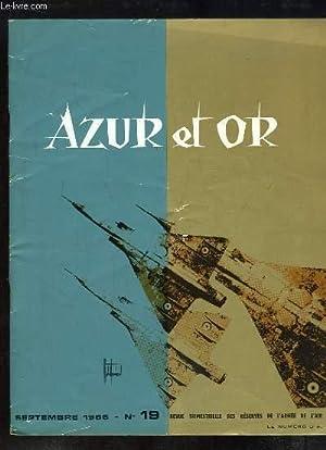 Azur et Or, N°19 : De l'Aviation: CAMPOCASSO Jean &
