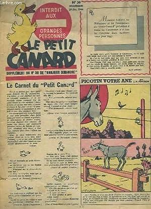 Le Petit Canard, supplément du N°30 de: VORMS Robert &